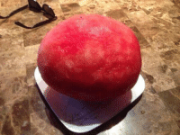Funny, Hood Shit, and Time: Retweet if this is the first time you've seen a peeled watermelon