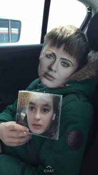 Her 8 year old brother pulled off the greatest executed face swap you've ever seen 😂: CHAT Her 8 year old brother pulled off the greatest executed face swap you've ever seen 😂