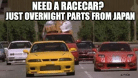 If only it worked like this... Submitted by Dani Elle at: http://www.carthrottle.com/memes/ Car memes: NEED ARACECAR?  JUST OVERNIGHT PARTS FROM JAPAN  2NYCE If only it worked like this... Submitted by Dani Elle at: http://www.carthrottle.com/memes/ Car memes