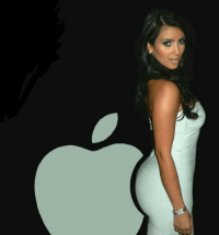 Just found the missing part of Apple Logo: Just found the missing part of Apple Logo