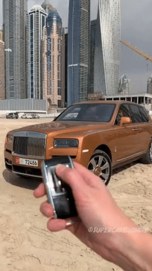The Rolls Royce Cullinan is the most expensive SUV in the world! 😱😍  Supercar Blondie: 72486  OSUPE The Rolls Royce Cullinan is the most expensive SUV in the world! 😱😍  Supercar Blondie