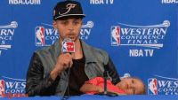 When you're ready to go home but your mom keeps talking to her friends.: NDA GUM  NCE  CON  WES  CONFI  CE  WESTERN  CONFERENCE  NBA FINALS  NBA TV  WES  CONF When you're ready to go home but your mom keeps talking to her friends.