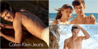 Calvin Klein, Facebook, and Funny: Calvi Klein eapsa   Calvin Klein Jeans   aMin Klein Jeans cameron dallas' Calvin Klein pictures look like he made his mom take pictures of him on a beach to post on facebook