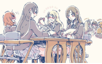 Imagine this....  Mugi is gay for Maki.... Mio-chan & Umi-chan will be the best model students..... Kotori-chan, Yui & Ritsu have a great day dressing Azu-nyan....  The possiblities....  - OneKotori: 73  ine Imagine this....  Mugi is gay for Maki.... Mio-chan & Umi-chan will be the best model students..... Kotori-chan, Yui & Ritsu have a great day dressing Azu-nyan....  The possiblities....  - OneKotori