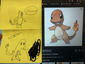 Me and my friend both drew Charmander. Whose is better? Top or bottom.: 75366475985&sa-1& el=Sy mXabXO5...  Longclaw  Not a Blog Geor...  P 10 Items of Clothi...  Online  Charmaadey  Pokemon.com  Charmander | Pokédex  Images may be subject to copyright. Find out more  20  See more  Related images  buildabear com  stop  om  X Me and my friend both drew Charmander. Whose is better? Top or bottom.