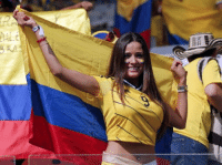 Highlight of the Colombia vs Greece match.: PALE Highlight of the Colombia vs Greece match.