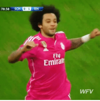 Memes, 🤖, and Fly: 78:38 SCHO-1 RM  Fly  Emiral  WFV When Marcelo did this vs Schalke... 👏🚀 - Follow us for more vids ✅