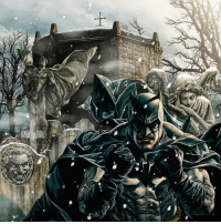 "Alive, Apparently, and Batman: 78 . Merry Christmas Eve Gothamites! Looking for the perfect modern Batman tale to read in honor of the holiday? Then Lee Bermejo's one shot graphic novel 'Batman: Noël' is the one for you! Written and illustrated by Bermejo with interior art by Barbara Ciardo (colors) and Todd Klein (letters), the late 2011 story mixes Batman lore and elements from Charles Dickens' ""A Christmas Carol"". Taking place during Christmas in Gotham City, Batman tracks down a struggling worker wrapped up in a Joker scheme named Bob Cratchit. With no intel, Batman lets him go but places a tracker on him. While in the Batcave coughing from an apparent cold, Bruce watches Bob and his son Tim in their home with a surveillance camera, wanting to arrest him now. But his butler Alfred reminds him having his son involved can lead to drastic consequences, as he experienced with the late Jason Todd (represented by Jacob Marley). Then, Batman responds to the sudden Bat-Signal, where Commissioner Gordon tells Batman that Catwoman (the Ghost of Christmas Past) has information about the Joker, but demands that she only talks to Batman. Confronting Catwoman, Batman discovers that she was lying and they reminisce about old times together. After their encounter, Batman is confronted by Superman (the Ghost of Christmas Present), who after using his x-ray vision on Batman, discovers he is coming down with pneumonia, but Batman ignores his concern. Returning to his Batmobile, the vehicle explodes and knocks out the Caped Crusader. The Joker (the Ghost of Christmas Future) arrives and drags Batman's body to the Gotham cemetery and buries him alive. While buried, Batman suffers visions of Gotham in chaos after his death and reflects on his own grim black and white view of the world since Jason Todd passed. Digging himself free, Batman saves Bob and Tim from Joker. Temped to kill Joker, Batman talks Bob out of it to be a good representation for his son. Refusing to kill him and the Joker arrested, Bruce Wayne gives Bob a raise and a better Christmas Tree. In the end the narrator reveals himself to be Bob, asking his son Tim the moral of the story. We'll have more Batman Christmas stories tomorrow so stay tuned!"