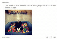 """tbearlupin  i just went from """"what the hell is dashcon"""" to laughing at this picture for five  minutes straight  6,295 notes #theworstoftumblr"""