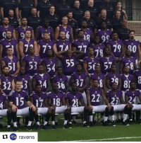 Sports, Raven, and Ravens: 79 90  JA  55 57  53 54  32 53 14  15 08 A 22 23  24  ravens T-Sizzle adding some spice to the Ravens photo day 😂 (via @ravens)