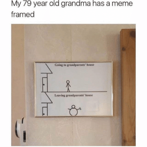 Grandparents are the best by Blunt_Machette MORE MEMES: 79  old  grandma  has  My year  framed  a meme  Going to grandparents' house  Leaving grandparents house Grandparents are the best by Blunt_Machette MORE MEMES
