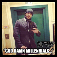 "Vince is going to be FURIOUS! LOL!: BREAKING  KAYFA BE  ""GOD DAMN  MILLENNIALS Vince is going to be FURIOUS! LOL!"