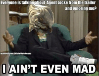 So how big of a role will Arbiter Thel Vadam have in Halo 5 Guardians? -Chris: Everyone is talkingabout Agent Locke from the trailer  and ignoring me?  i AIN'T EVEN MAD  tacebook.com/onicialHaloMemes So how big of a role will Arbiter Thel Vadam have in Halo 5 Guardians? -Chris