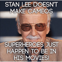 Preach--⚠️ CLICK LINK IN MY BIO 👆-⚠️ To check out epic things for geeks and gamers!--justiceleaguesupermancaptainamericabatmanwonderwomanarrowtheflashgothamspidermanbatmanvsupermancomicbookmemesjusticeleaguememesavengersavengersmemesageofultrondccomicsdcmemesdccomicsmemesmarvelmarvelcomicsmarvelmemes: STAN LEE DOESNT  MAKE CAMEOS  ALL THINGS DC AND MARVEL  SUPERHEROES JUST  HAPPEN TO BE IN  HIS MOVIES! Preach--⚠️ CLICK LINK IN MY BIO 👆-⚠️ To check out epic things for geeks and gamers!--justiceleaguesupermancaptainamericabatmanwonderwomanarrowtheflashgothamspidermanbatmanvsupermancomicbookmemesjusticeleaguememesavengersavengersmemesageofultrondccomicsdcmemesdccomicsmemesmarvelmarvelcomicsmarvelmemes