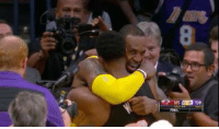 Anaconda, Love, and Nothing: 8  105 END 100 Nothing but love between Bron & Wade 🤝
