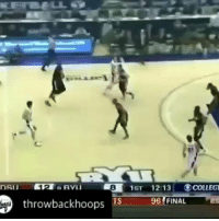 Basketball, White People, and Name: 8  1ST 12:13. OLEGİ  throwbackhoops TS  96 FINAL Throwback to when his name was a verb and he dropped 43 on Kwahi Leonard. 🐐 #JimmerRange https://t.co/BJKSOdactL