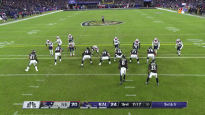 Lamar Jackson lofts, Mark Andrews leaps.  First down @Ravens. @lj_era8 @MAndrews_81 #RavensFlock  📺: #NEvsBAL on NBC 📱: NFL app // Yahoo Sports app Watch free on mobile: https://t.co/iejHcWRXCq https://t.co/sS4c3wYl4j: 8  21  5-2 BAL 24 3rd 7:17  8-0 NE 20  3rd & 5  :10 Lamar Jackson lofts, Mark Andrews leaps.  First down @Ravens. @lj_era8 @MAndrews_81 #RavensFlock  📺: #NEvsBAL on NBC 📱: NFL app // Yahoo Sports app Watch free on mobile: https://t.co/iejHcWRXCq https://t.co/sS4c3wYl4j