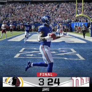 FINAL: @waynegallman and the @Giants take down their division rivals!  #WASvsNYG https://t.co/EDoBS7igcZ: 8  FINAL  3 24 N FINAL: @waynegallman and the @Giants take down their division rivals!  #WASvsNYG https://t.co/EDoBS7igcZ