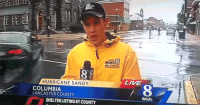 Columbia, Hurricane, and Live: 8  HURRICANE SANDY  LIVE  COLUMBIA  LANCASTER COUNTY  8  WGAL  SHELTER LISTING BY COUNTY