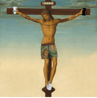 Jesus, Classical Art, and Com: 8  JEEZUS Does Jesus really have to look like this in 2019 to get y'all recognition? This is actually really deep. Join the Jeezus movement and get your shirt: shop.classicalfuck.com 🛒