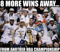 Nba, Spurs, and Another: 8 MORE WINS AWAY  PU  NATION  FROM ANOTHER NBA CHAMPIONSHIP LIKE Spurs Nation!