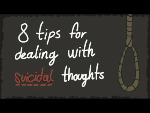 Target, Tumblr, and youtube.com: 8 tips Ar  dealing, wi  suicidal buzzylilbeebus:  thisismycleverhandle:   supershawoltt:  cookiethedevil:  lolchipss:  How to Deal With Suicidal Thoughts #BellLetsTalk  Thank you to everyone who supported us and made this video possible!    Signal boost!!!   signal boost   The world needs YOU   And that's not the only thing that comes from these guys they have load and loads of helpful things to help you through almost anything !