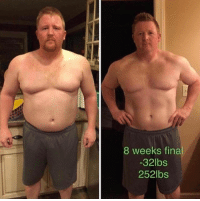 Another impressive transformation from online fitness coach @duncanlukas! . ⬇️8 WEEK PLAN FLASH SALE⬇️ 🚨Click Link in his BIO @duncanlukas Or Visit www.LukasDuncan.com-Special . For more info: 📧email LBDTraining@LukasDuncan.com: 8 weeks fina  -32lbs  252lbs Another impressive transformation from online fitness coach @duncanlukas! . ⬇️8 WEEK PLAN FLASH SALE⬇️ 🚨Click Link in his BIO @duncanlukas Or Visit www.LukasDuncan.com-Special . For more info: 📧email LBDTraining@LukasDuncan.com
