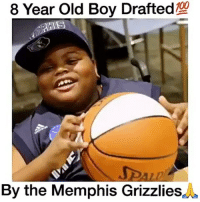 Anaconda, Crazy, and Cute: 8 Year Old Boy Drafted  100  By the Memphis Grizzlies DoubleTap For Respect🔥🙌 What is your favorite Sport? 🤔 Comment below! 👇 - Follow @Sportzmixes For More! 🏀 - love dubai cute lol like4like crazy doubletap