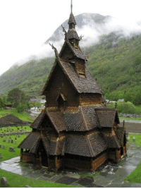 800-Year Old Norwegian Church: 800-Year Old Norwegian Church