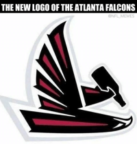 Only the Falcons can lose after being up 21-0: THE NEW LOGO OF THE ATLANTA FALCONS  @NFL MEMES Only the Falcons can lose after being up 21-0