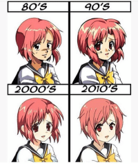 80s, Memes, and Best: 80's  90's  2000's  2010s Which do you like best? @animee 💕 . . Cr. @-animejoin ?