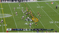 Memes, Nfl, and 🤖: 810  0  CHI 10  GB 0 2nd 1:04 35  1st & 10 On his FIRST snap in the NFL...  @RoquanSmith1 with the SACK. #CHIvsGB https://t.co/Qtzq6h41Yy
