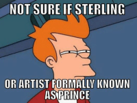 [ Credit to Michael Tedesco ]: NOT SURE IF STERLING  OR ARTIST FORMALLY KNOWN  AS PRINCE [ Credit to Michael Tedesco ]