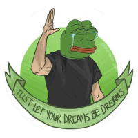 Wise words from Pepe The Frog: EN0K Wise words from Pepe The Frog