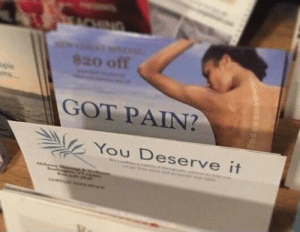 Funny, Tumblr, and Blog: 820 off  GOT PAIN?  You Deserve it memecage:Funny maymay