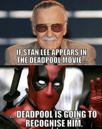 Film Nerd: IF STAN LEE APPEARS IN  THE DEADPOOL MOVIE  DEADPOOL IS GOING TO  RECOGNISE HIM Film Nerd