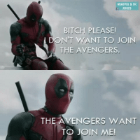 Thank you to all 60 thousand of you We love you all Here's a meme -Nightcrawler: MARVEL & DC  JOKES  BITCH PLEASE!  DON'T WANT TO JOIN  THE AVENGERS  THE AVENGERS WANT  TO JOIN ME! Thank you to all 60 thousand of you We love you all Here's a meme -Nightcrawler