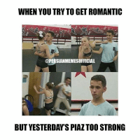 WHEN YOU TRY TO GET ROMANTIC  @PERSIANMEMESOFFICIAL  BUT YESTERDAYS PIAZTOO STRONG FOLLOW 🔥🔥🔥@PERSIANMEMESOFFICIAL🔥🔥🔥 for the funniest Persian memes and videos!!!