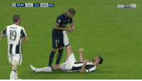 Class personified - most footballers would bemoan perceived time wasting here but Kylian Mbappé chooses to help Andrea Barzagli & his cramp.: 83:44  JUV  (4-1)  2-1  MON  DIRECT  DOIN SPORTS  HD 1 Class personified - most footballers would bemoan perceived time wasting here but Kylian Mbappé chooses to help Andrea Barzagli & his cramp.