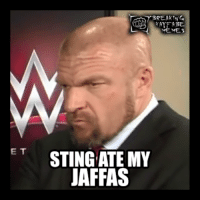 Now THAT'S just mean... XD (UK Edition): ET  KAYFABE  MEMES  STING ATE MY  JAFFAS Now THAT'S just mean... XD (UK Edition)