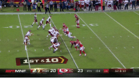 WILD ending to #WASvsKC! https://t.co/Vo7bD9M5R0: 84  IST&10  ESP i MNF  ie-WSH 20  KC 23 4TH :04 08 1st & 10 WILD ending to #WASvsKC! https://t.co/Vo7bD9M5R0