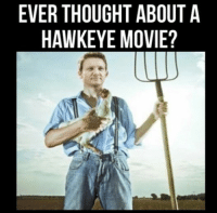 ~ Deadpool: EVER THOUGHT ABOUT A  HAWKEYE MOVIE? ~ Deadpool