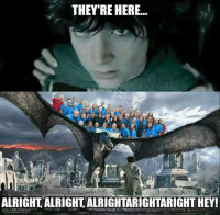 EFY kids can also be represented by the massive Orc horde armies on Pelennor Fields. (Original meme:https://www.facebook.com/photo.php?fbid=10205080295619861): THEY'RE HERE...  ALRIGHT ALRIGHT ALRIGHTARIGHTARIGHT HEY!  NEW LINE CINEMA EFY kids can also be represented by the massive Orc horde armies on Pelennor Fields. (Original meme:https://www.facebook.com/photo.php?fbid=10205080295619861)