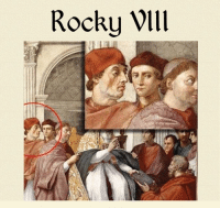 Rocky Wlll Rocky VIII: Renaissance Rumble Like Classical Art Memes for more like this