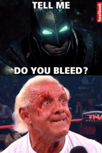 Wrestling, World Wrestling Entertainment, and Accepted: TELL ME  DO YOU BLEED? Challenge accepted.
