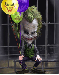 Good morning Gothamites and happy birthday to...me! Always happy and grateful to be here another year to keep celebrating my favorite character with you all ☺Today we'll celebrate another Batman birthday, but until then please enjoy this Heath Ledger's Joker caricature painting by illustrator Rich Conley @RichConleyArt! Check out more of their work on @RichConleyArt's websites at RichConleyArt.com and Rico3244.deviantart.com! Thanks to everyone who already has wished me a happy birthday here and on Twitter (HistoftheBatman), I appreciate it! We'll have more History of the Batman soon for Nerd Wednesday, so stay tuned and thanks for following! ✌🏼💜💚🃏🎉🎊🎁🎈: 89 Good morning Gothamites and happy birthday to...me! Always happy and grateful to be here another year to keep celebrating my favorite character with you all ☺Today we'll celebrate another Batman birthday, but until then please enjoy this Heath Ledger's Joker caricature painting by illustrator Rich Conley @RichConleyArt! Check out more of their work on @RichConleyArt's websites at RichConleyArt.com and Rico3244.deviantart.com! Thanks to everyone who already has wished me a happy birthday here and on Twitter (HistoftheBatman), I appreciate it! We'll have more History of the Batman soon for Nerd Wednesday, so stay tuned and thanks for following! ✌🏼💜💚🃏🎉🎊🎁🎈