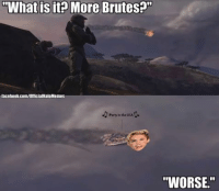 """Throwback Thursday! [Original Post: June 25th, 2014] Needless to say, that was not a good day for The Master Chief. -ChrisThings just seem like they are getting worse for Chief. -Chris (admin Matt did the Photoshop): What is it? More Brutesn""""  facebook.com/OfficialHaloMemes  Party in the USA  """"WORSE."""" Throwback Thursday! [Original Post: June 25th, 2014] Needless to say, that was not a good day for The Master Chief. -ChrisThings just seem like they are getting worse for Chief. -Chris (admin Matt did the Photoshop)"""