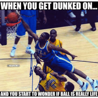 Westbrook in college tho.. 🔥🔥 @athleteaskids: WHEN YOU GET DUNKED ON  @  NBAMEMES  AND YOU START TO WONDER IF BALL IS REALLY LIFE Westbrook in college tho.. 🔥🔥 @athleteaskids