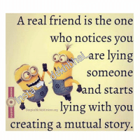 👆True that👆😝😂😂-TAG all those buddies with whom you have such understanding 💕💞-WhoKnowsYouWell: A real friend is the one  who notices you  care lying  Someone  aand starts  lying with you.  Despicable MeMinionsorg  creating a mutual story 👆True that👆😝😂😂-TAG all those buddies with whom you have such understanding 💕💞-WhoKnowsYouWell