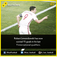 Did you know that...  Join our backup page 8Football: 8fact Football  Robert Lewandowski has now  scored 15 goals in his last  9 international qualifiers.  8factFootball  8fact football  8 fact football Did you know that...  Join our backup page 8Football